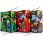 3Pcs New Version Enlightenment Hulk Building Blocks (AS THE PICTURE)