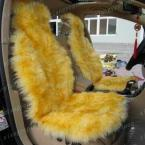 Free ship Wool  wool winter car cushion car seat cushion 155 sheep fur accessories