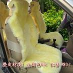 Free ship Sheepskin wool cushion car winter cushion plush pure wool winter seat cushion sheep fur accessories