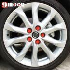 Силиконовые гайки на колёсные диски для Mazda 3/5/6/8 Artzt CX-7 CX-5. (20 штук)