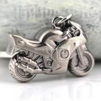 3D Motorcycle Keychain Creative Hot Sale Classic Motorbike Key Chain Ring Keyring Keyfob Key Holder 82521