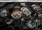 AGENTX AGX100 мужские водонепроницаемые часы с круглым циферблатом, календариком и ремешком из нержавеющей стали.