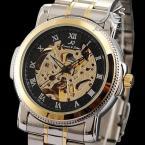 KS041 мужские водонепроницаемые часы с оригинальным циферблатом и ремешком из нержавеющей стали.