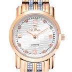 Bestdon женские водонепроницаемые часы с оригинальным циферблатом и ремешком из нержавеющей стали.