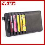2015 New Hot Sell Luxury Ultra-thin Multi Places Card Holder Wallet Men & Women 100% Genuine Cow Leather Card Bag,JG3053