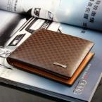 2015 Male Leather Casual Short Design Wallet Card holder Zipper pocket Fashion Purse for men,ZX-D1109-99