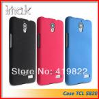 , Genuine Brand New IMAK Cowboy Quicksand Shell Ultra-thin Skin Case Cover Back For Alcatel One Touch Idol TCL S820