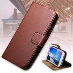 S3 Leather Case Stand Wallet Cover for Samsung Galaxy S3 I9300 Full Bag With Magnetic Buckle Genuine Leather Phone Case