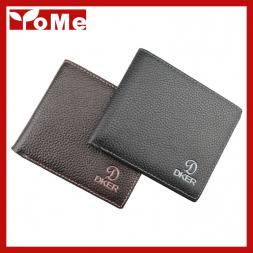 2015 fashion business black coffee men wallets cowhide genuine leather brand credit card holders wallet ,YW-D2016