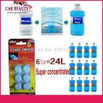 6 Pcs/Pack New Arrival Auto Windscreen Cleaner  Car Windscreen Cleaning Agent Pills Effervescent Tablets