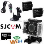 Original SJCAM SJ5000 WiFi Sports Camera Novatek 96655 HD 1080P Waterproof Diving Action Cam 16GB +Free car Charger/Holder