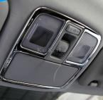 2pcs Car stainless steel interior reading lamp cover overlay for Hyundai IX35 auto accessories