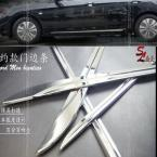 Accessories FIT FOR 2013 2014  ACCORD SIDE DOOR CHROME TRIM ACCENT MOLDING GARNISH
