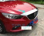 Accessories FIT FOR 2014 MAZDA 6 ATENZA FRONT HOOD GRILL BONNET COVER TRIM GARNISH MOLDING