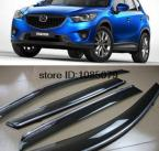 Accessories FIT FOR MAZDA CX-5 CX5 SIDE WINDOW RAIN DEFLECTORS GUARD VISOR WEATHERSHIELDS DOOR WIND SHADE