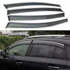 Accessories FIT FOR 2011 2012 2013 2014 (GP) SUBARU XV WINDOW RAIN DEFLECTORS GUARD VISOR WEATHERSHIELDS DOOR SHADE