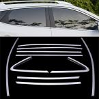 Accessories FIT FOR 2010 2011 2012 2013 2014 HYUNDAI IX35 TUCSON SIDE WINDOW SURROUND LINING COVER TRIM MOLDING GARNISH ACCENT