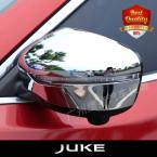 ABS Side Door Mirrors Rearview Cover 2pcs/set For NEW JUKE 2014- 2015 High Quality