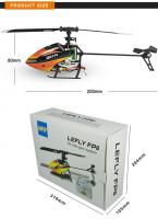 LEFLY FP8 4CH 6 Axis Gyro Flybarless RC Helicopter drone RTF 2.4GHz