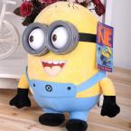 18cm minion toys despicable me Creative Minions 3D eyes yellow doll soybeans doll plush toys