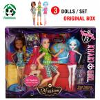 3 Dolls Set / New Toys Doll for Girls / High Quality Toy Gift for Children  / Classic Toys