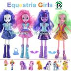 Original Equestria Girls Doll Hot Selling Horses Action Figures Free Dolls Accessories Classic Toys For Girls