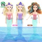 Moxie Girlz Swimming 15 inch Mermaid Doll Battery Operated Magically  Changes Color  38 cm Bath Toys Free Gift Packing