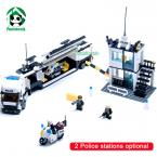 Building Blocks Compatible with lego 511 pcs Police Station truck Motorcycle / learning & Education toys / brinquedos educativos