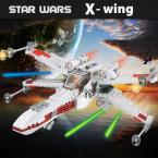 Star Wars X-Wing Fighter Blocks Compatible with Lego Star Wars Bricks Educational Toys Model Building Kits