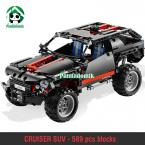 Cruiser SUV Car Building Blocks Compatible with lego City 589 Pcs Decool Car Styling Models Building Toys Car Scale Bricks