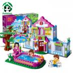 Building Blocks Compatible With Lego Friends 405 Pcs 4 Toy Figures DIY House Economical Package Bricks Toys for Girls