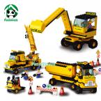 Building Blocks Set Compatible with lego 474 pcs City Truck Crane / Educational Bricks Toys/ Learning Education