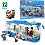 Original Box Building Blocks Compatible with lego City Bus learning & Education Educational Toys Brinquedos Bricks Toy