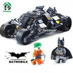 Batmobile Decool Building Blocks Compatible with lego marvel Batman 325 pcs with Action Figure Educational Bricks Toys