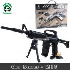 Models Building Toy  Blocks Set Gun Series M16 Weapon Model Building Kits 524 Pcs Toy Gift