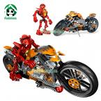 Building blocks decool Hero Factory FURNO BIKE  Educational Bricks Toys / learning education Toys brinquedos educativos