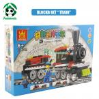 Building Blocks Compatible with lego City Train Scale Models / Educational DIY Bricks Toys / Learning Education Toys