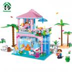 Honey House Building Blocks Compatible With Lego Friends 380 Pcs 2 Toy Figures Bricks Model Building Toys for Girls