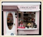 Kids Educational Assembly Dollhouse DIY Chocolatier, Novelty Voice-control & Musical House Toys