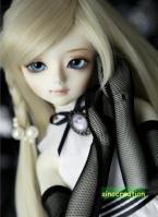 1/4 Kid Delf DARAE BJD Doll Full Set ( With BJD Doll Dress & Wig ), Lovely bjd Girl Doll Toy,