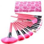 Professional Makeup Brushes Set 18Pcs Brushes in rose Case Makeup cosmetic Brushes & Tools