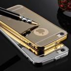 Tomkas Ultra Slim Mirror Case For iPhone 5 Mobile Phone Luxury Aluminum Acrylic Back Cover For iPhone 5S Hot Sale