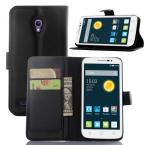 2015 High Quality Wallet Leather Flip Case Cover Alcatel One Touch Pop 2 4.5 5042d 5042 OT5042X