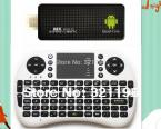 MK809III MINI PC +  UKB500 air mouse RK3188 Quad Core  Android 4.4.2 Kitkat 2GB / 8GB with bluetooth Dongle TV box