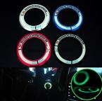 Accessories LUMINOUS FIT FOR HYUNDAI SONATA  ELANTRA SOLARIS IX35 I30 KIA K2 K3 K5 IGNITION RING SWITCH COVER
