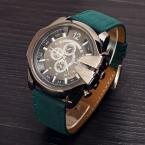 Men Quartz Watch Fashion V6 Watches Men Luxury Brand Analog Sports Military Watch Leather Men's Wristwatches Relogio Masculino