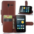 Luxury Wallet Stand Leather Case For Alcatel One Touch Pixi 3 (3.5 inch) With Credit Card Holder Mobile Phone Case,1Pcs