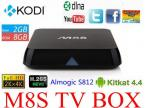M8S Amlogic  S812 Quad Core MINI PC 4K video Android 4.4.2 Airplay Miracast  H.265 HEVC Dual Wifi 2GB/8GB BT4.0 KODI APK&ADD-ONS