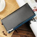 Hot selling casual men wallet long purse high quality