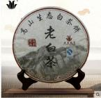 top grade Fujian Fuding white tea high mountain shou mei tea 350g compressed cake sweet after taste C1